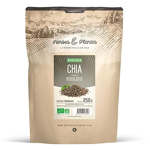 Herbes Et Plantes Graines de Chia Bio 250 g