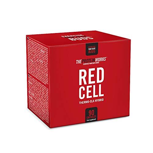 Red Cell Softgels   Suplemento Termogénico Pre-entreno  Ayuda a la Pérdida de Grasa   CLA, Extractos de Café Verde, Cafeína   THE PROTEIN WORKS   90 Capsulas
