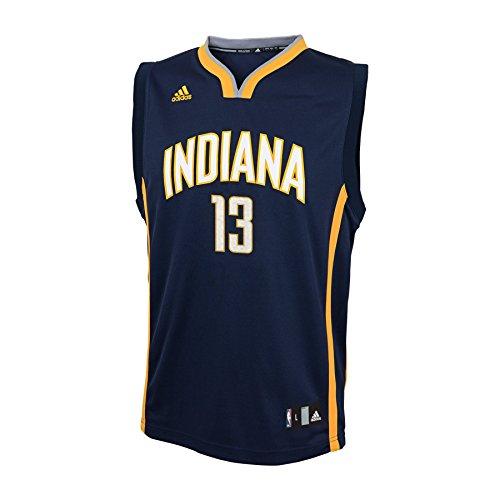 NBA Boys 4-7 Indiana Pacers George Away Replica Jersey-Dark Navy-S(4)