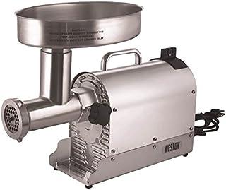 Weston (10-3201-W)  Pro Series Electric Meat Grinders (2 HP, 1500 Watts) - Silver