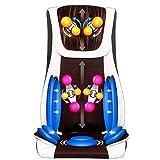 Fly YUTING Cojín de Asiento de Silla de Masaje, Shiatsu Masaje Trasero Masaje Silla de Asiento Cojín con función de Calor y Vibraciones, Relajarse con los músculos de la Espalda Completa para el hoga