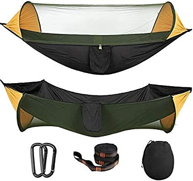 Hamac, Tente Portable Camping hamac avec moustiquaire Multi Use Tente Swing hamac Portable for hamac randonnée pédestre Campi