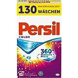 Persil - Detergente profesional de color en polvo, limpieza y cuidado 360°, 1 unidad (130 lavados)