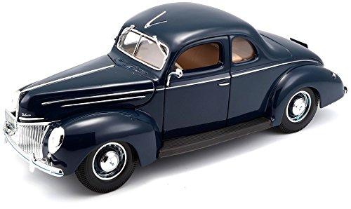 Bburago Maisto France- Maquette-Ford Deluxe Coupe 1939-Echelle 1/18, M31180, Aléatoire