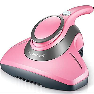 Lblll Vacuum Cleaner Dust Mites Bed Mites Machine Ultraviolet Sterilization in Addition to A Sofa Bed Mites Removal Instrument Carpet Sofa Bed Bedroom,Pink