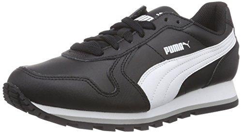 Puma - St Runner Full L, Sneakers, unisex, Nero (Schwarz (black-white 01)), 42