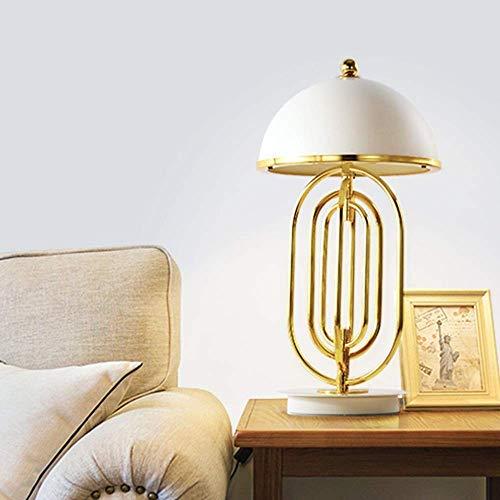 Dightyoho Lámpara Escritorio Lámpara de Mesa, lámpara de Noche para Dormitorio, Moderna Sala de Estar Minimalista, sofá, lámpara nórdica, lámpara Decorativa de Lujo de Moda Creativa