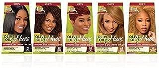 ORS Olive Oil Hues Vitamin & Oil Creme Color #10 Jet Black ( #50 Light Golden Blonde) by ORS