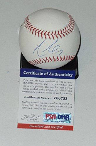 Nelson Cruz Auto'd Signed Baseball Psa/dna Coa Seattle Mariners Rangers Orioles - Autographed Baseballs