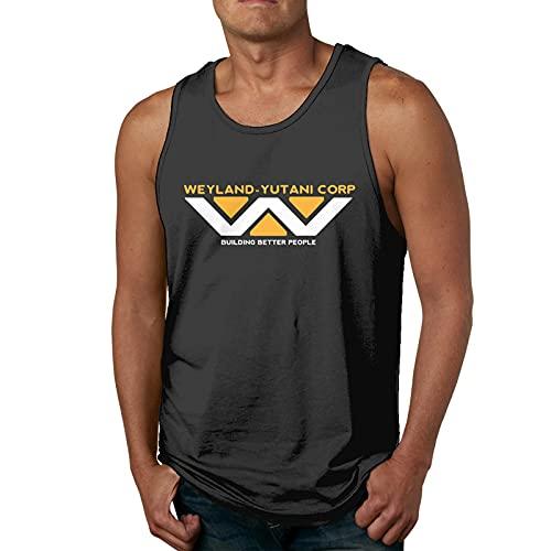 Weyland Yutani Corp. Camiseta sin Mangas para Hombre Camisetas Deportivas