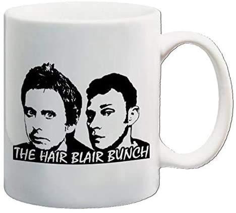 N\A Tazas de cerámica Peep Show Movie Comedy TV Sitcom Jeremy-Usborne Mark-Corrigan Sophie-Chapman The Hair Blair Bunch Tazas de café de Regalo Divertidas 11 oz