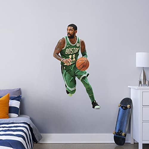 Fathead NBA Boston Celtics Kyrie Irving Kyrie Irving- Officially Licensed Removable Wall Decal, Multicolor, Giant - 1900-00305-003