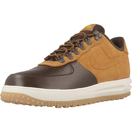 Nike Lf1 Duckboot Low, Scarpe da Basket Uomo, Multicolore (Baroque Brown/Desert Ochre 201), 42 EU
