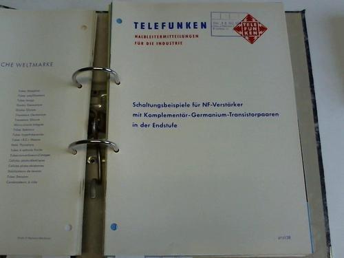Schaltungsbeispiele für NF-Verstärker mit Komplementär-Germanium-Transistorpaaren in der Endstufe