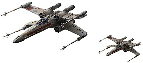 Bandai Hobby Star Wars X-Wing Red Squadron (Special Set) 1/72 Plastic Model Kit