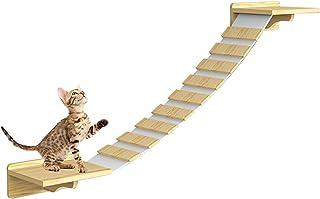 Licogel Cat Shelf Wall Mounted Sturdy Funny Fun Cat Furniture Cat Perch Cat Step Shelf Climber Play Wall Hanging Cat Nest