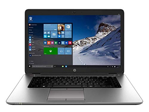 HP ELITEBOOK 850 G2 LAPTOP INTEL CORE I5-5300U 5th GEN 2.30GHZ WEBCAM 8GB RAM 1TB HDD WINDOWS 10 PRO 64BIT (Renewed)