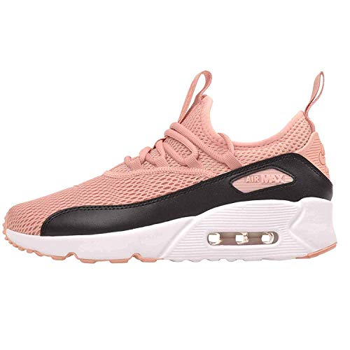 Nike Air Max 90 EZ (GS) Youth Unisex Running, Size 6, Color Coral Stardust/Coral Stardust