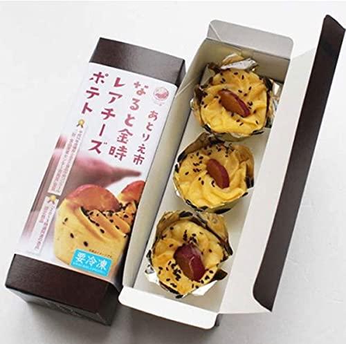 [市岡製菓] スイーツ あとりえ市 なると金時レアチーズポテト 3箱セット 3個入り×3箱