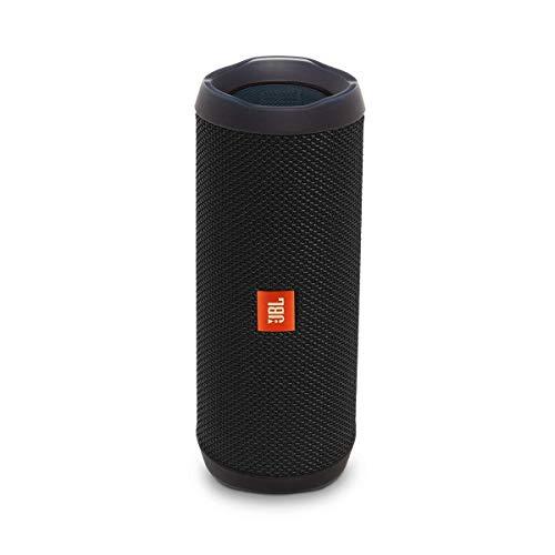 JBL Flip 4 Waterproof Portable Bluetooth Speaker (Black) (Renewed)