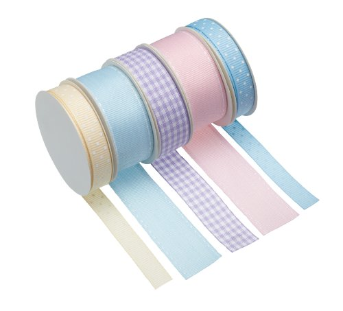 Kitchen Craft Sweetly Does It Printed Decorating Ribbon - Pastel
