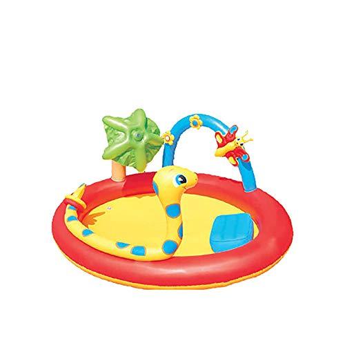 QPMY Piscina, Piscina Inflable, Fuente Infantil, Piscina Interior Y Al Aire Libre, Piscina De Bola del Océano Y Piscina De Arena, 76 × 59 × 35 Pulgadas
