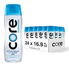 NUTRIENT ENHANCED WATER: CORE is designed to work with you, promoting hydration and balance. All bottles are 100% recyclable and BPA-free. PERFECT pH LEVEL: It is ultra-purified with just the right amount of electrolytes and minerals to work in harmo...