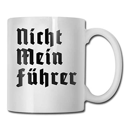 Lustige Nicht Mein Führer Kaffeetasse Deutsche Kaffeetasse Einzigartiges Geburtstagsgeschenk für Männer Frauen