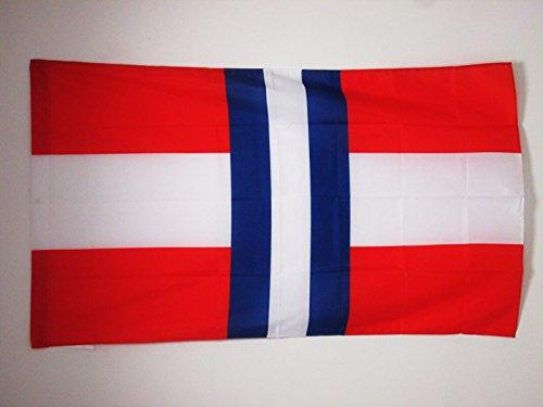 AZ FLAG Drapeau Duché de Modène 1452-1859 90x60cm - Drapeau Italien Ancien - Italie 60 x 90 cm Fourreau pour hampe