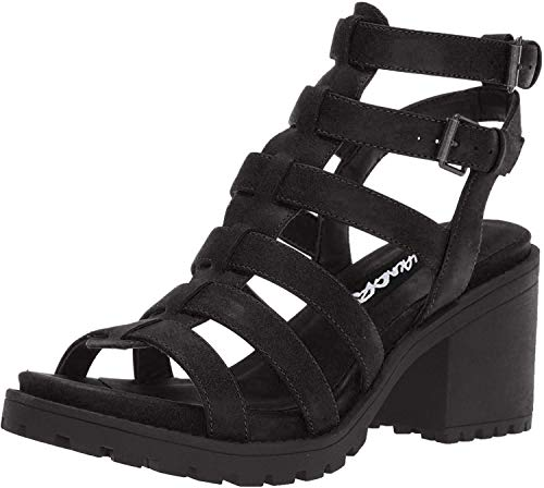 Dirty Laundry by Chinese Laundry Women's Fun Stuff Heeled Sandal, Black, 8.5 M US