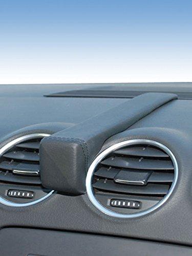 KUDA 293950 Halterung Echtleder schwarz für Audi A4 B6/B7 Cabrio ab 04/2002 bis 03/2009 / Seat Exeo ab 02/2009