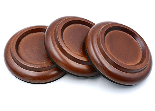 Piano Caster Cups Grand Piano Caster Cups Wood coasters Cups Piano Caster Pads for Grand Piano