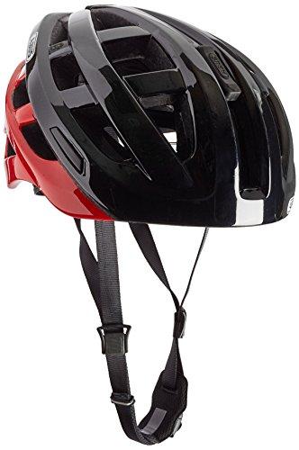 Abus Erwachsene Fahrradhelm In-Vizz Ascent, red comb, 13382-4 ,57-63cm