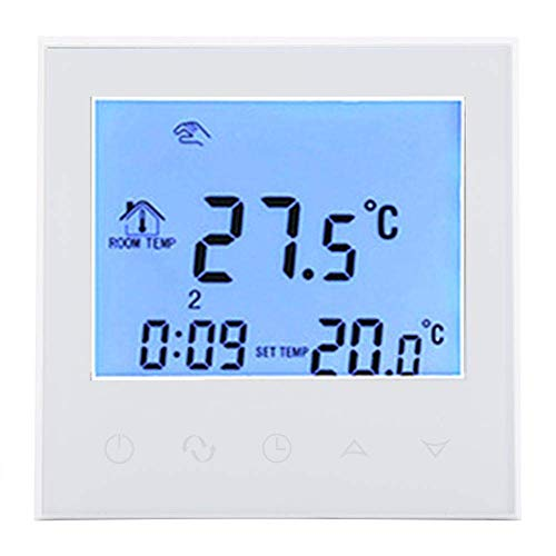 YUQIYU Termostato Digital, Display LCD Wirless Temperatura inteligente WIFI Termostato programable digital de control de controlador CAN válvula motorizada bola motorizada válvula (# 1)