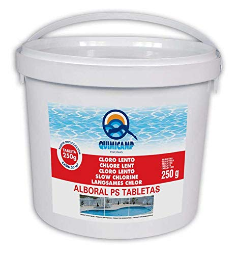 Cloro Alboral PS Tabletas 250 g 5 kg