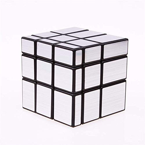 XJZKA Rubik'S Cube3X3X3 Cubos de Espejo mágico Cast Coated Puzzle Velocidad Profesional...
