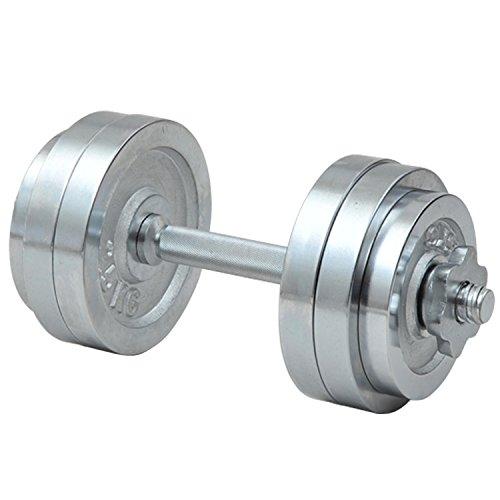 山善 Circulate クロムダンベルセット 15kg SD-15