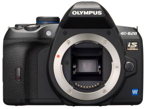 Olympus E-620 SLR-Digitalkamera (12,3 Megapixel, Bildstabilisator, Live View, Art Filter) Gehäuse