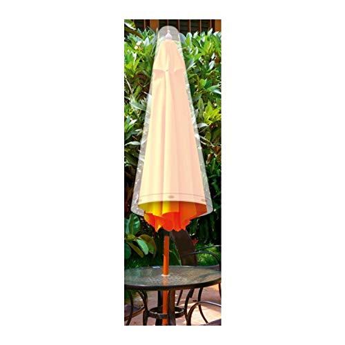 Guilty Gadgets Große Wasserdichte Wäscheleine Abdeckung für Sonnenschirm, Regenschirm, für den Außenbereich, Garten, Terrasse, 175 cm