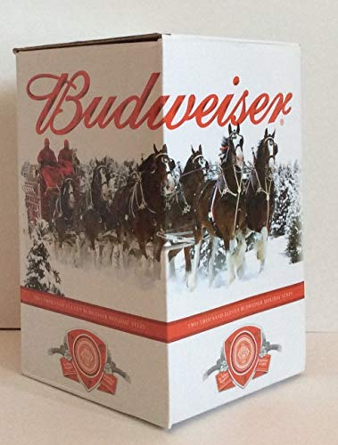 budweiser 2011 holiday stein - NIB