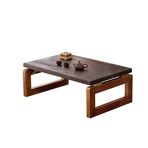 CSQ Creative Petite Table, Style Japonais en Bois Massif Table De Table Décoration Table Basse Lit Table Table De Musique Étude d'enfant Table Ordinateur Portable Bureau
