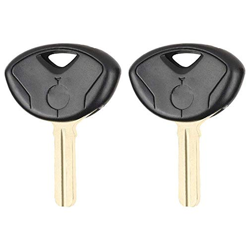 Beefunny 2pezzi di ricambio per moto transponder Key Shell case Fob per BMW K1300S K1300R K1200R 1200RT 1200GS