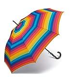 Paraguas de Mujer Largo Automático United Colors of Benetton, Ocho Varillas, 105 cm de diámetro....