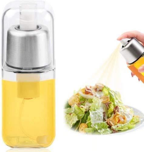Multifunctioneel vernevelaar olie en azijn olie spuit, roestvrij staal glasolie spuitbusfles olijfolie pasta, pan, grill, barbecue