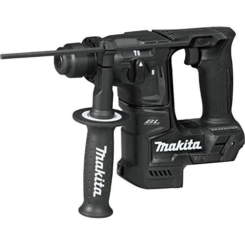 "Makita XRH06ZB 18V LXT Lithium-Ion Sub-Compact Brushless Cordless 11/16"" Rotary Hammer, Accepts Sds-Plus Bits, Tool Only (Renewed)"