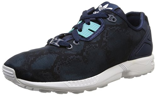 adidas Originals Zx Flux Decon W B35372, Herren, mehrfarbig (Night Indigo/Light Aqua/Ftwr White), EU 40 2/3