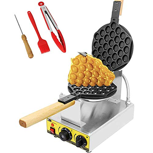 CGOLDENWALL Electric Bubble Waffle Iron Maker Hong Kong eggettes Waffle...