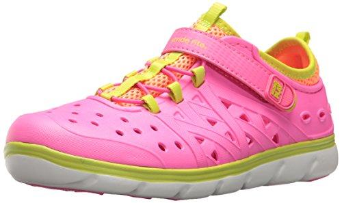 Stride Rite Girl's Made2Play Phibian Water Shoe, Pink, 10 M US Toddler