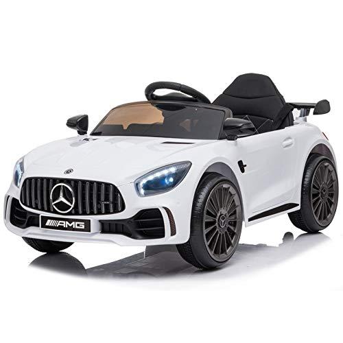 ATAA Mercedes GTR Mini 12v - Blanco - Coche eléctrico para niños...