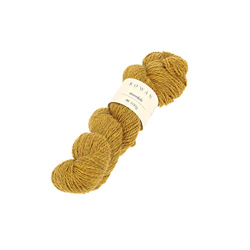 Rowan 9802220-00003 Handstrickgarn, 70% Wolle, 30% Alpaka, Tumeric, onesize